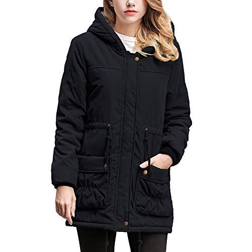 iHENGH Black Friday Weihnachten Karnevalsaktion Damen Herbst Winter Bequem Mantel Lässig Mode Jacke...