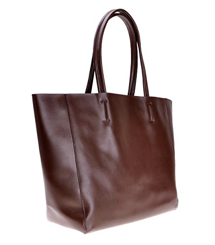 Spalla Zlyc pelle a tracolla borsetta Basic sfoderabile shopper grande borsa, Coffee (Marrone) - JC-BG-8001-CF-1 Coffee