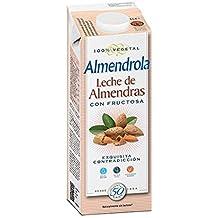 Almendrola Bebida Vegetal de Almendra Fructosa - Paquete de 6 x 1000 ml - Total: 6000 ml