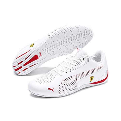 PUMA Ferrari Drift Cat 5 Ultra II Sneaker Puma White-Rosso Corsa, Gr.- 46 EU/ 11 -