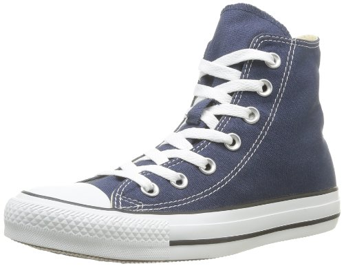 Converse All Star Hi Canvas, Sneaker, Unisex - Adulto Blu