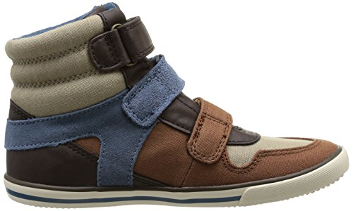 Start Rite Hawk Jungen Basketballschuhe Braun - Marron (Brown Canvas)