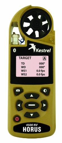 Kestrel 4500 Shooters Weather - Accesorio para Mochilas, Color Verde