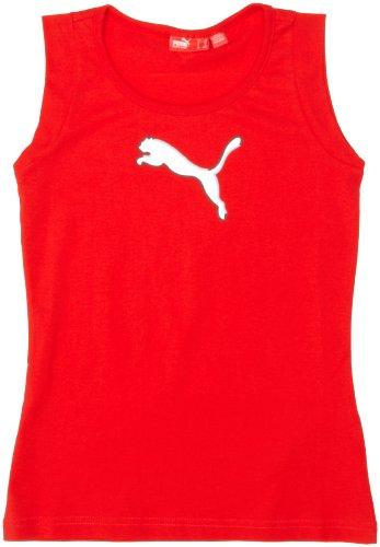 Puma Junior Large Logo Sleeveless Tee Shirt Test