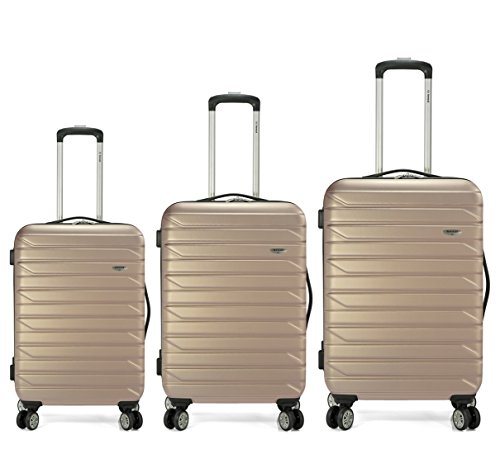 Benzi - Juego de maletas BZ4877 (Oro)