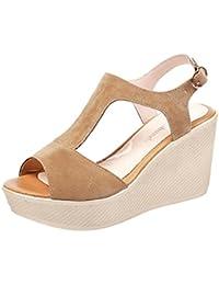 Sandalias Cm 8 De Para Mujer 11 es Amazon Zapatos Vestir 61pwA