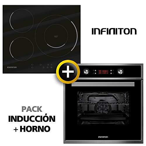 Pack Horno + INDUCCION INFINITON Placa Encimera Induccion