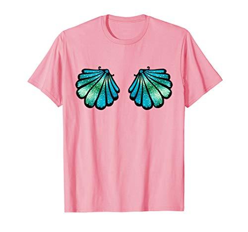 Bh Meerjungfrau Kleine Kostüm Muschel - Meerjungfrau Muschel BH mermaid Bikini Kostüm T-shirt