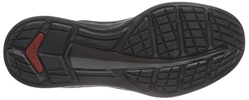 Puma Ignite Suede, Baskets Basses mixte adulte Noir - Schwarz (black 03)