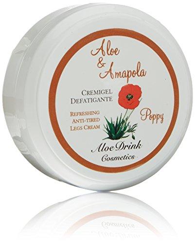 Aloe Canarias 200110 - Cremigel de aloe vera y amapola para piernas cansadas, 150 ml