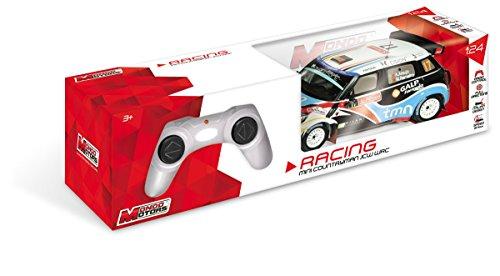 Mondo Mini Countryman Jcw WRC Veicolo Radiocomandato, Colore Bianco, 20 x 10 x 6 cm 63362