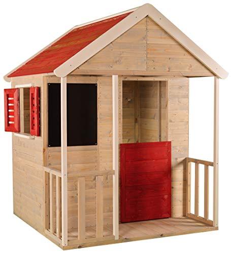 Casa infantil de madera para el jardín...