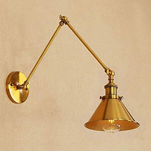 Xiao Yun ☞ * Blendschutz/Mini Style Retro/Vintage/Traditional/Classic Swing Arm Lights Wohnzimmer/Arbeitszimmer/Büro/Geschäfte/Cafés Metall, Gold ☜ -