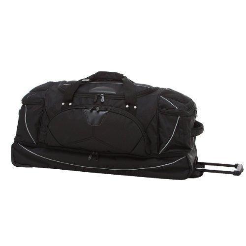 Imagen de dermata  bolsa de viaje con ruedas y función de , 82 cm negro