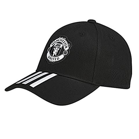 Adidas Mufc 3S Manchester United Fc Cap, Black, One Size