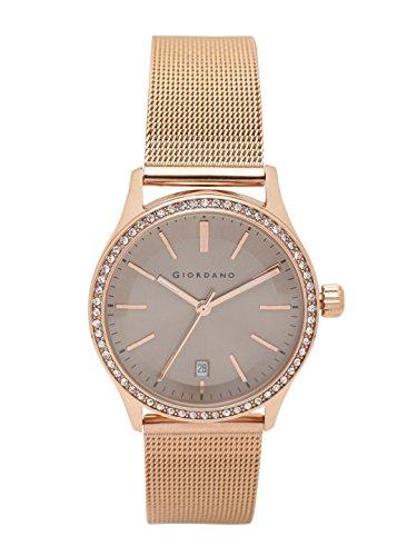 Giordano Analog Grey Dial Women's Watch- 2847-55 image