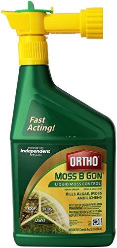 Ortho Moss B Gon Liquid Moss & Algae Killer-32OZ RTS MOSS B GON - Moss Killer