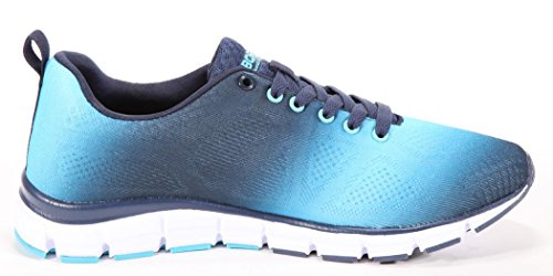 BORAS - Herren Sneaker - Schwarz Schuhe in Übergrößen Navy