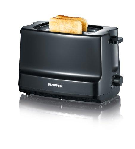 """Severin AT 2281 Automatik-Toaster""""Start"""", schwarz"""