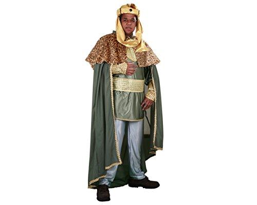 Imagen de disfraz de rey mago verde  traje de rey mago