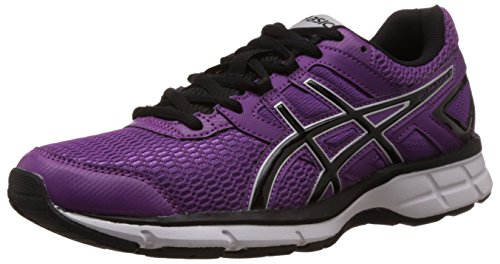 Asics Women's Gel Galaxy Grape, Black and Silver Mesh Running Shoes -3 UK/India (35.5 EU)(5 US)  available at amazon for Rs.3419