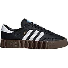 Adidas Original Samba Blanca y Negra. Zapatillas para Mujer con Plataforma.  Deportivas. Sneaker 87f8e6aa085ab