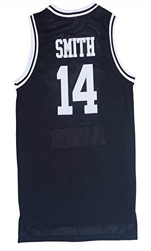 MYLJX Film Will Smith NO.14 Bel-Air Academy Basketball Jersey NO.25 Carlton Bank Gelb Grün Herren T-Shirt-Weste-College-Jersey-4-M