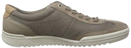 Ecco FRASER Herren Sneakers Braun (WARMGREY/WARMGREY 54190)