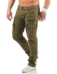 Geographical Norway POLOGNE lange Cargo Hose Freizeit Outdoor Army Trousers XS-XXXL