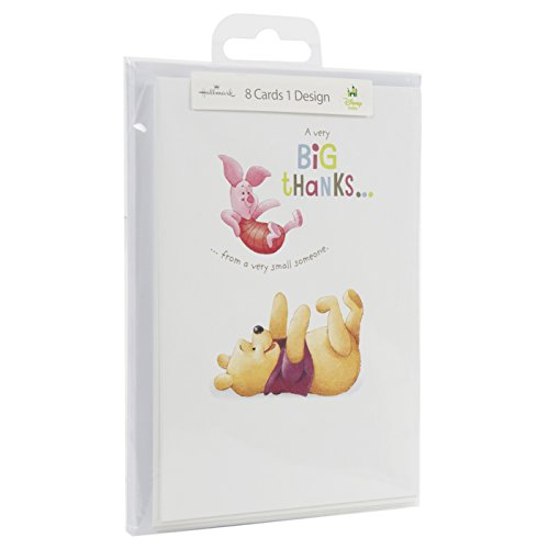 Hallmark Disney Baby Thank You Stationery From A Small Someone - Pack of 8 Cards