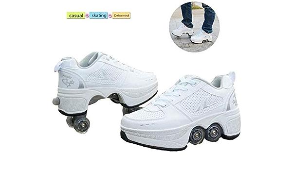 LIH 4 Wheel Adjustable Quad Roller