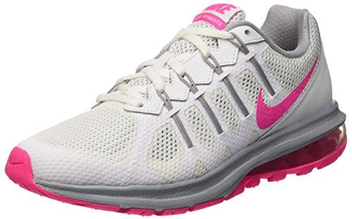 Nike Wmns Air Max Dynasty, Entraînement de course femme - Multicolore - Multicolore (White/Pink Blast-Wolf Grey), 40 EU