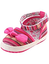 Tefamore Zapatos Bebe de Bajos de Deporte de Antideslizante de Suave de Moda Invierno Otoño Nudo de Arco