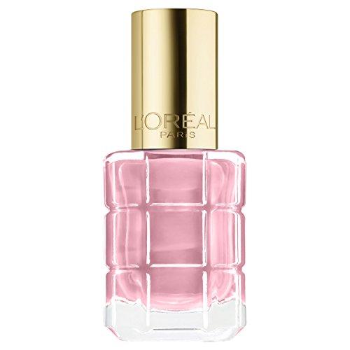 L'Oréal Paris Color Riche Le Vernis Nagellack mit Öl in hellem Rosa/Pflegender Farblack in...