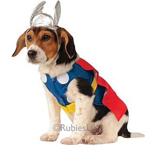 Thor Hundekostüm - groß (Hund Thor Kostüme)