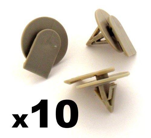 10 x Clips Agrafe Plastique - BMW Mini - Garnissages / Habillages - 07137073915 - LIVRAISON GRATUITE!