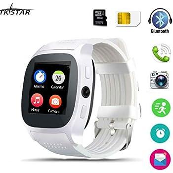 Smart Watch, TKSTAR Smartwatch Android Bluetooth Smartwatch Apoyo TF Tarjeta SIM Smart Reloj Teléfono Llamadas Respuesta de Extremo & Dial Up Smart ...