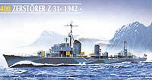Heller 81010Model Kit Destroyer Z 31 by Glow2B