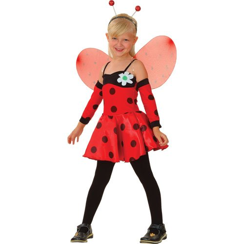 Lovely Ladybug Girls Fancy Dress (Bug Kostüm Kind)