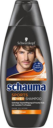Schwarzkopf Schauma Sports Shampoo, 4er Pack (4 x 400 ml)