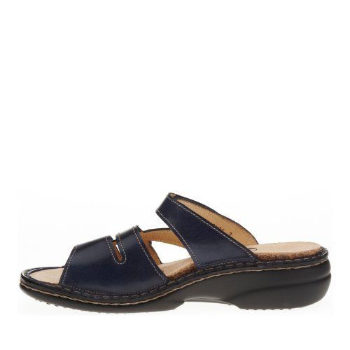 Finn Comfort Womens Ventura-S 82568 Leather Sandals Blu (Blu oceano)