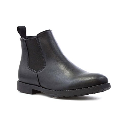 Beckett Mens Black Chelsea Boot - Size 8 UK - Black
