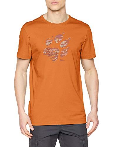 Jack Wolfskin Herren Paw T-Shirt Desert orange, L -