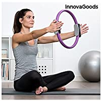 InnovaGoods IG115267 Aro de Pilates de Resistencia, Unisex Adulto, Morado, Talla Única - Cosmética y perfumes - Comparador de precios