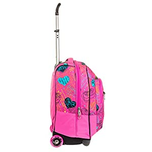 41F1ut%2BBRkL. SS300  - Seven Trolley Fit Shiny Girl Trolley para portátil 48 centimeters 35 Rosa