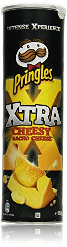 Pringles Xtra Cheesy Nacho Cheese, 175 g