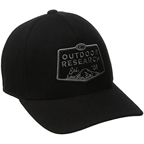 Outdoor Research Basecap Bowser Cap, Adulti (unisex), Black, Taglia unica