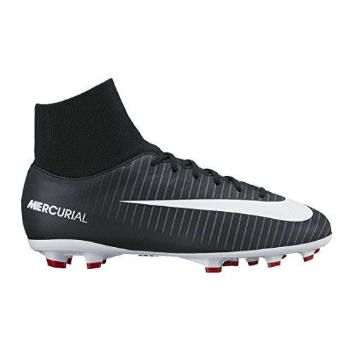 Nike Mercurial Victory VI DF FG JR 903600 002, Sneaker Unisex-Adulto, Mehrfarbig (Indigo 001), 35 EU