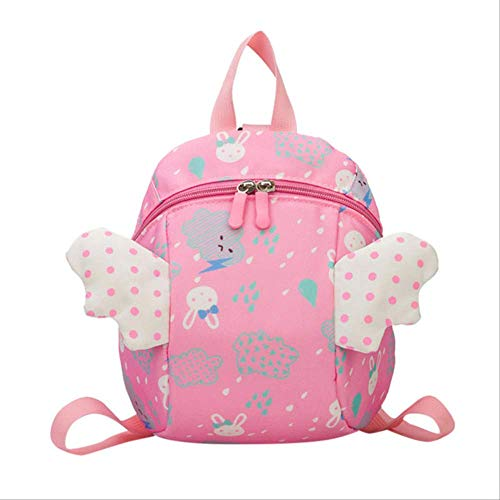 errucksack Kleine Flügel Mode Schöne Einfache Interessante Wolke Bär Kindergarten Schultasche Cartoon TascheRosa ()