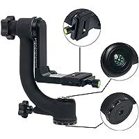 yaetact BK Gimbal Stativkopf für schwere Kamera Teleobjektiv mit 360Grad Schnellwechselplatte